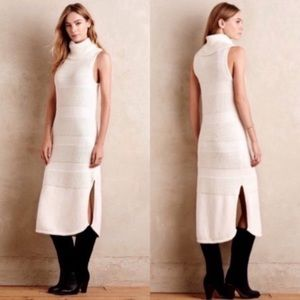 Moth Turtleneck Sleeveless Sweater Dress